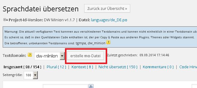 mo-Datei erstellen Codestyling Localization